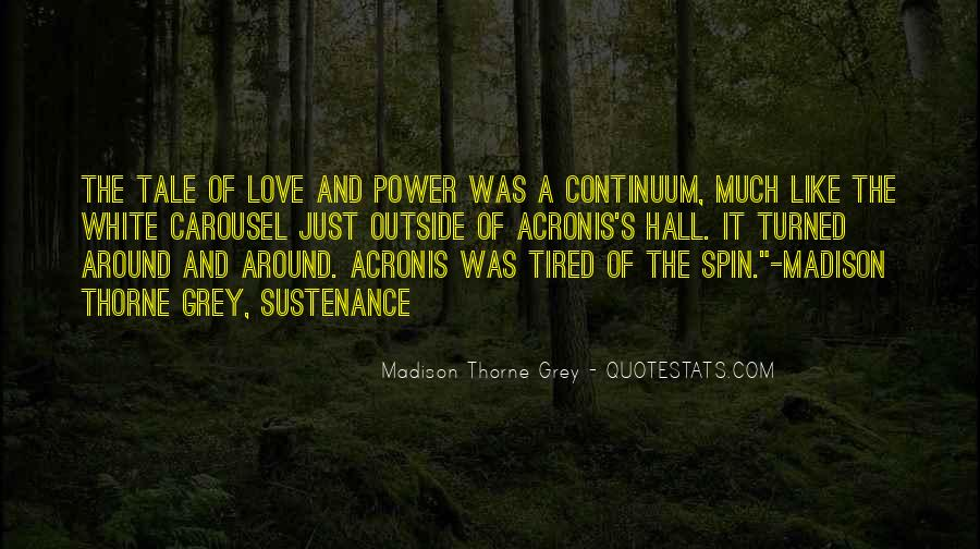 Quotes About Power Of Love #160989