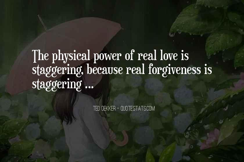 Quotes About Power Of Love #32792