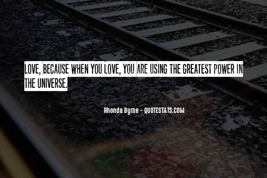 Quotes About Power Of Love #41050