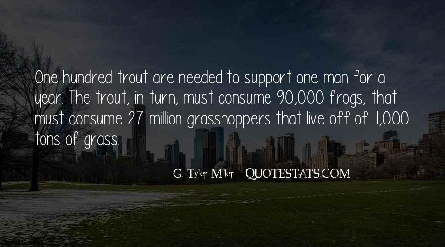 Quotes About Grasshoppers #1011144