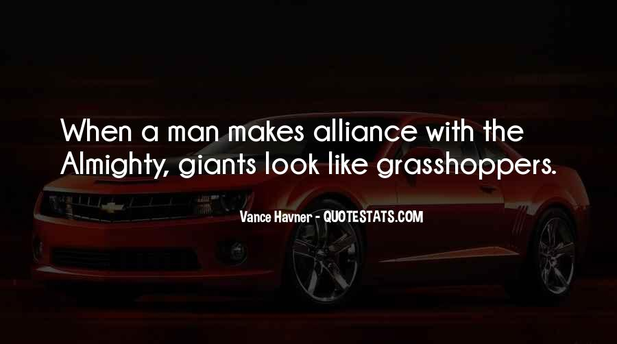 Quotes About Grasshoppers #1084182
