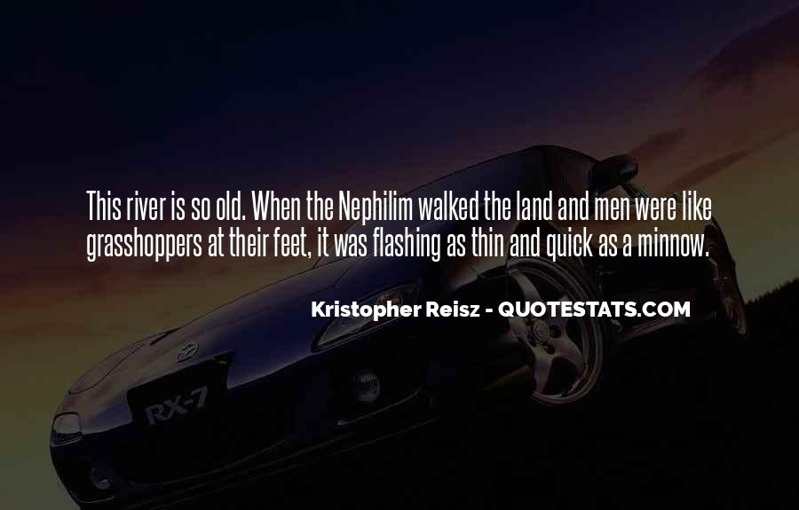 Quotes About Grasshoppers #1598326