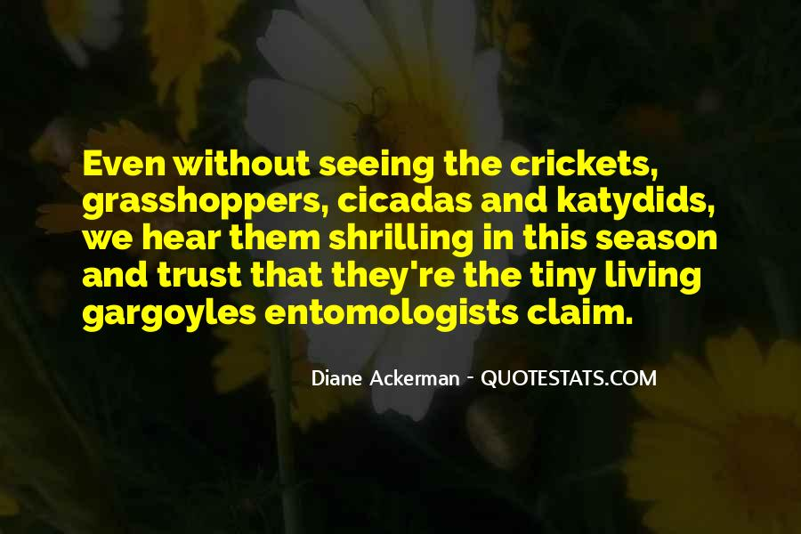Quotes About Grasshoppers #468837