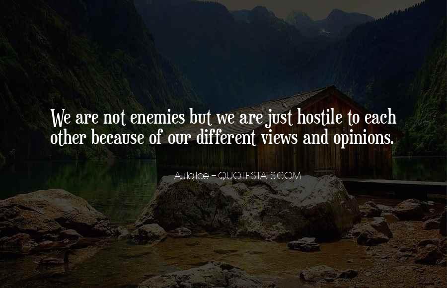 Quotes About Friends Enemies #113379