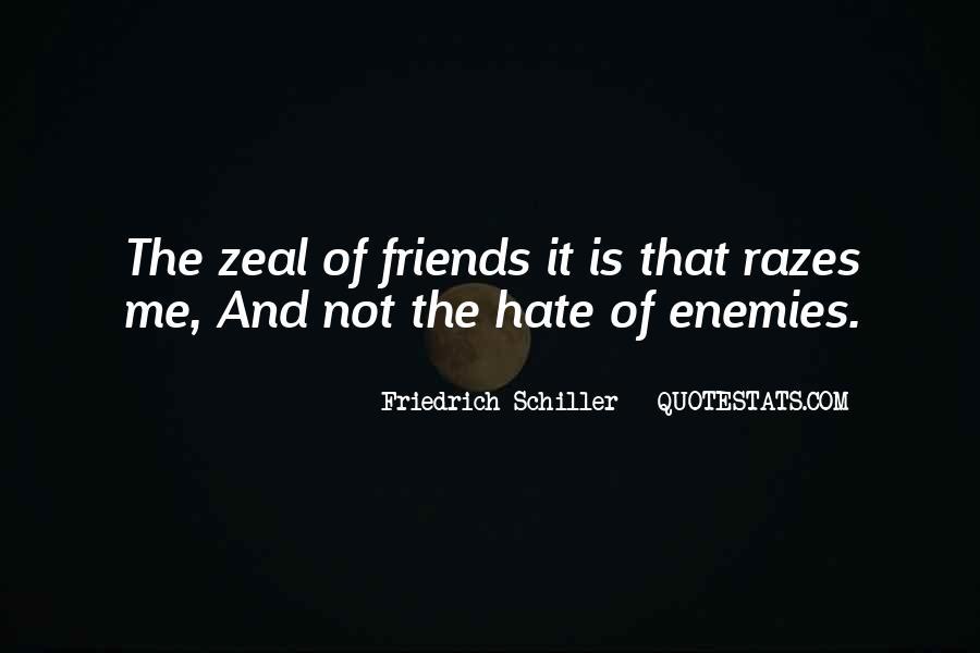 Quotes About Friends Enemies #152053