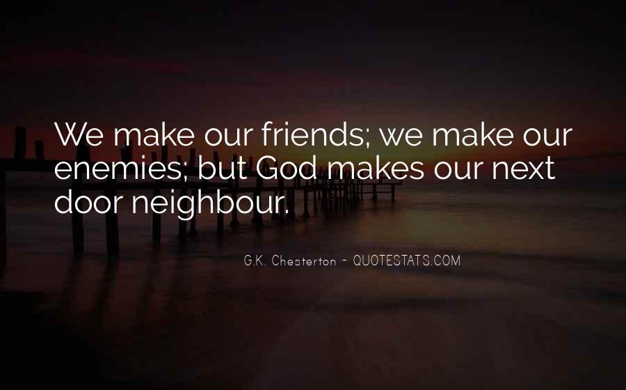 Quotes About Friends Enemies #183301