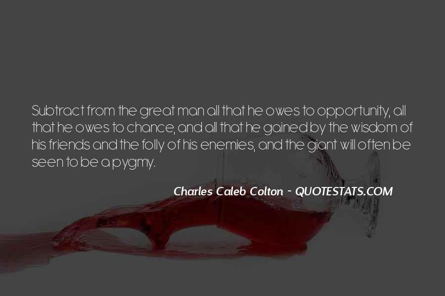 Quotes About Friends Enemies #184325