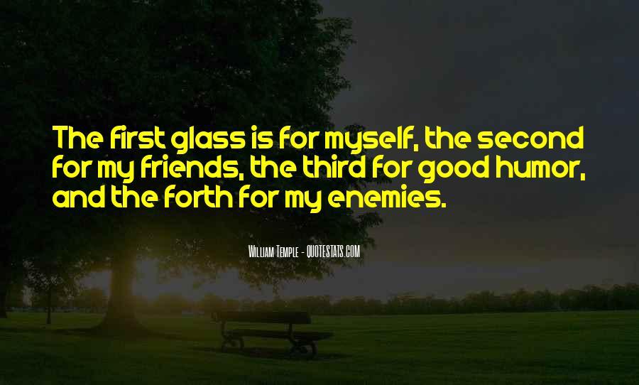 Quotes About Friends Enemies #221010