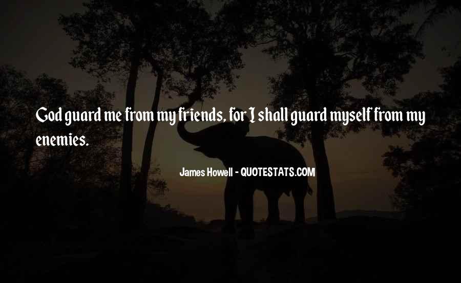 Quotes About Friends Enemies #228595
