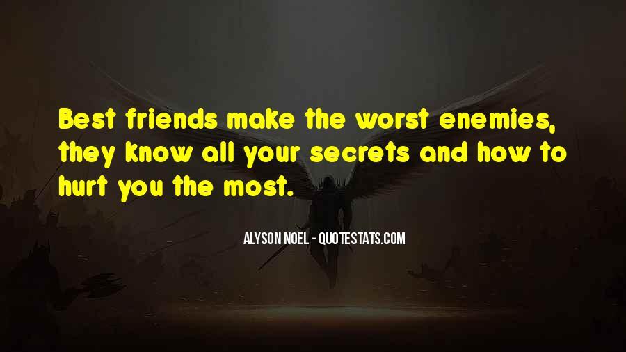 Quotes About Friends Enemies #26264