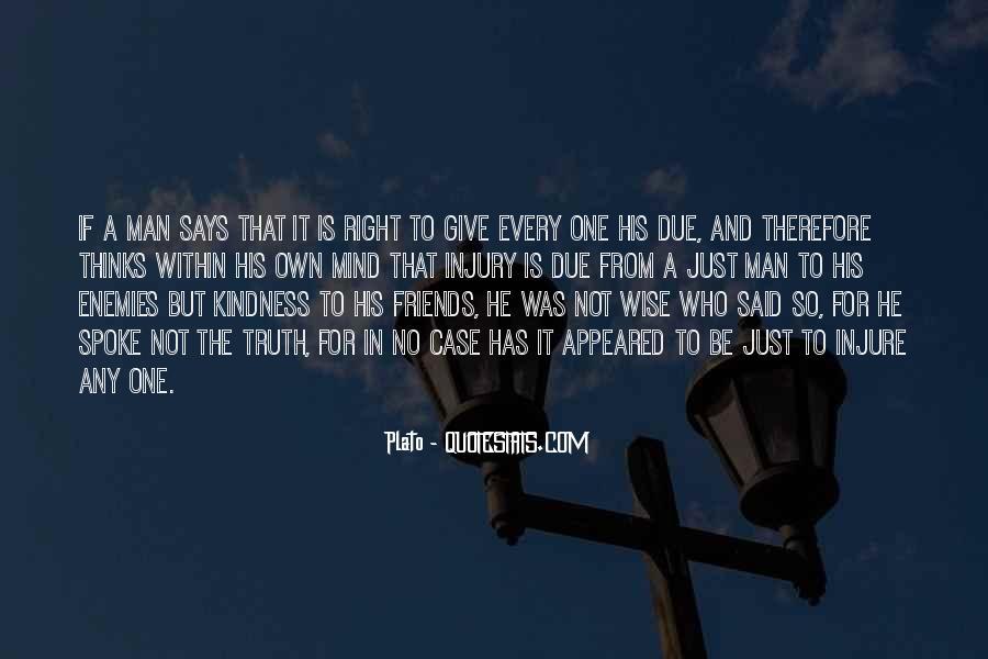 Quotes About Friends Enemies #55013