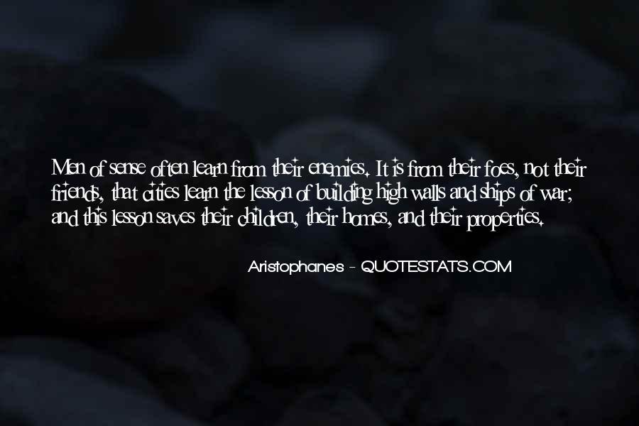 Quotes About Friends Enemies #62679