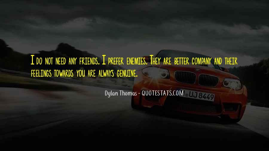 Quotes About Friends Enemies #63302