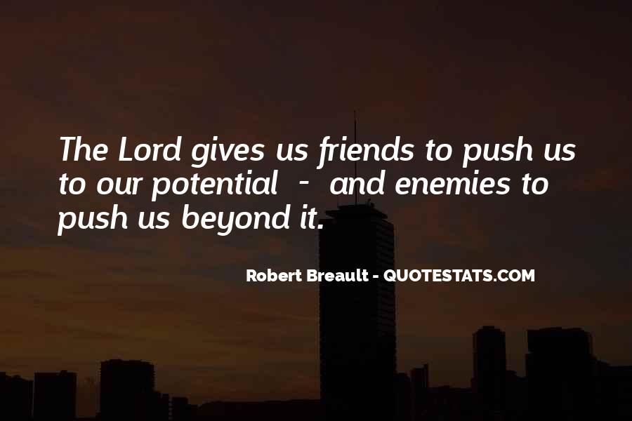 Quotes About Friends Enemies #91693