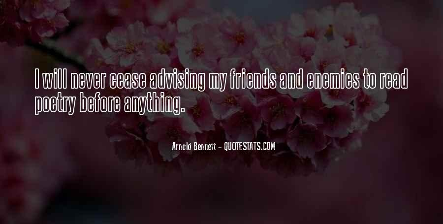 Quotes About Friends Enemies #96031