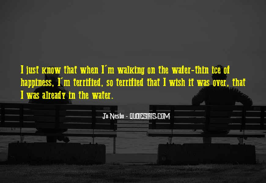 Quotes About Ice Water #105435