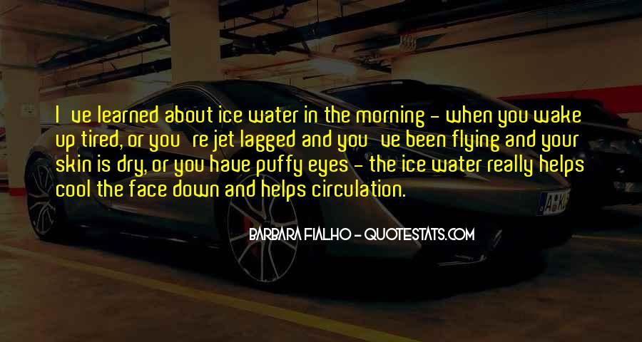 Quotes About Ice Water #1259667