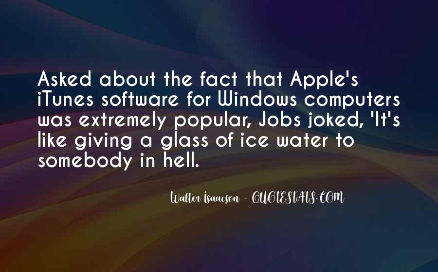 Quotes About Ice Water #1262100