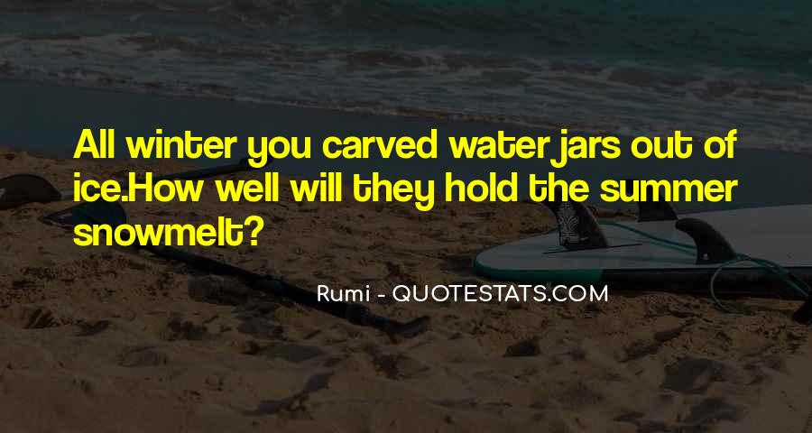 Quotes About Ice Water #1471189