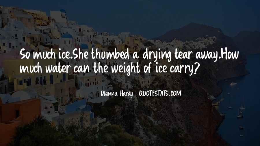 Quotes About Ice Water #153542