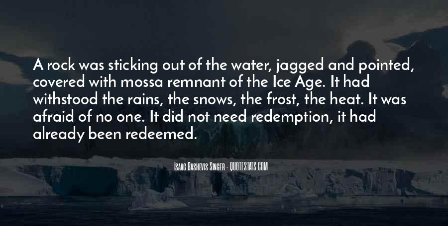 Quotes About Ice Water #253938