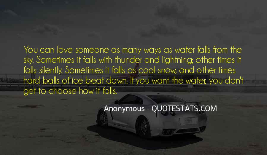 Quotes About Ice Water #516689