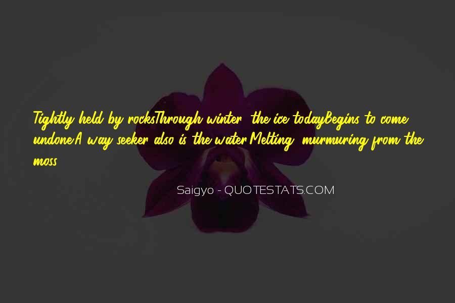 Quotes About Ice Water #642307