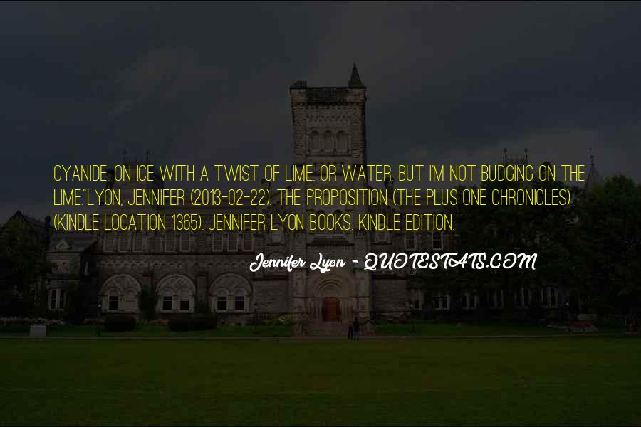 Quotes About Ice Water #701289