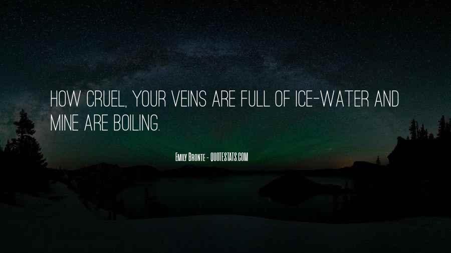 Quotes About Ice Water #766546
