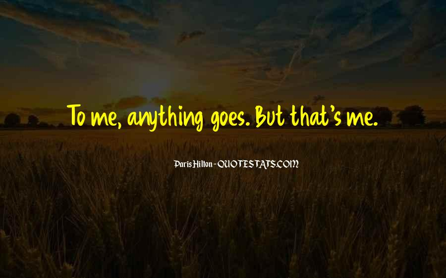 Quotes About Anything Goes #516152