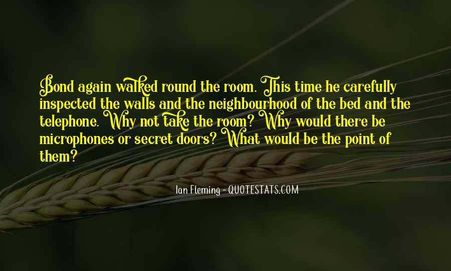 Quotes About Secret Doors #1011020