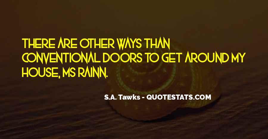 Quotes About Secret Doors #1044504