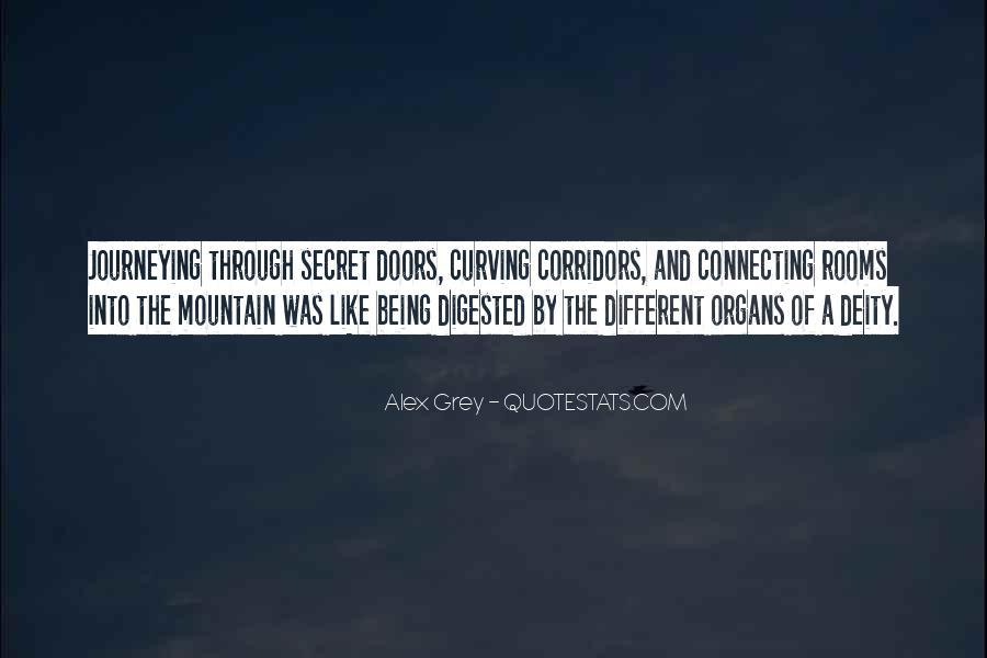 Quotes About Secret Doors #1248703