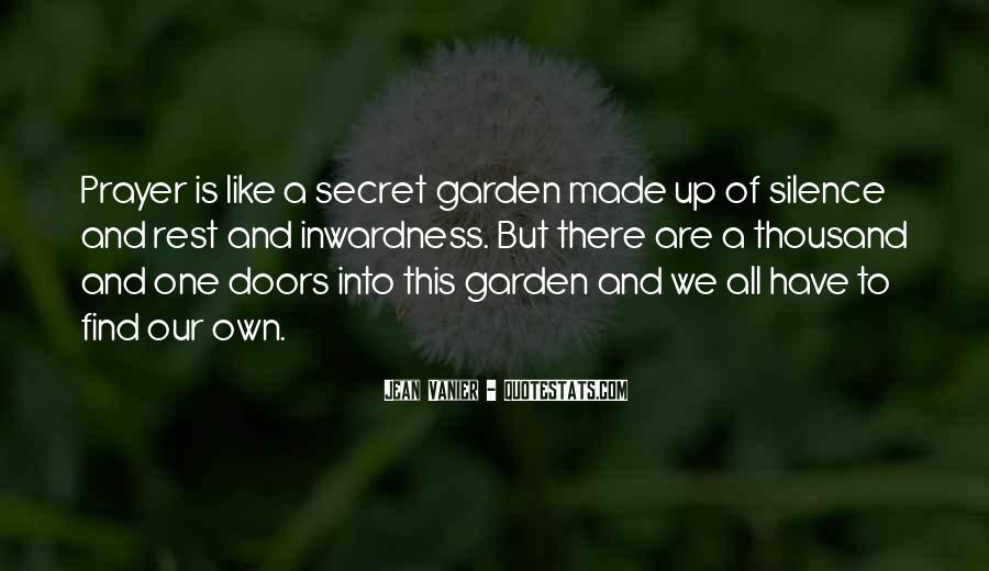 Quotes About Secret Doors #338483
