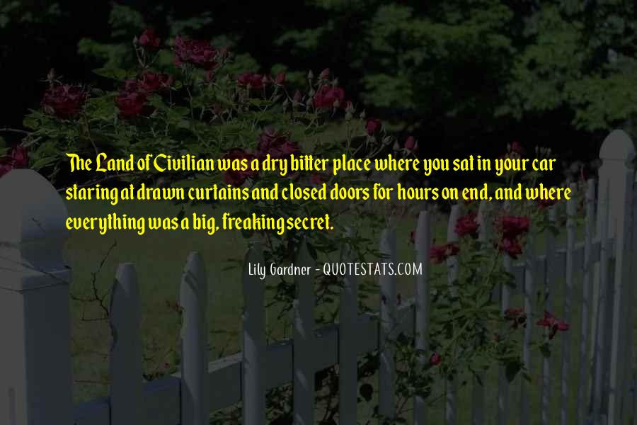 Quotes About Secret Doors #371894