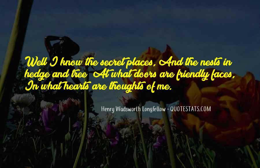Quotes About Secret Doors #947058