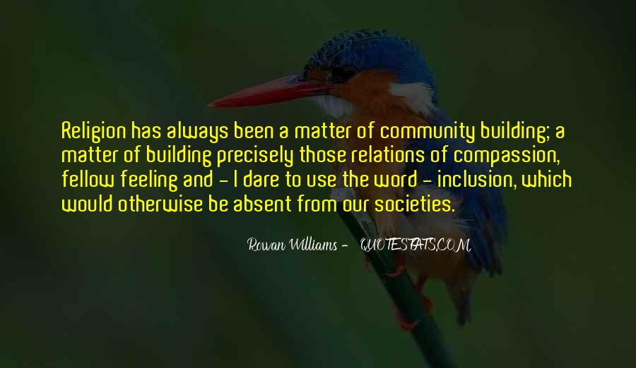 Quotes About Building A Community #1080286