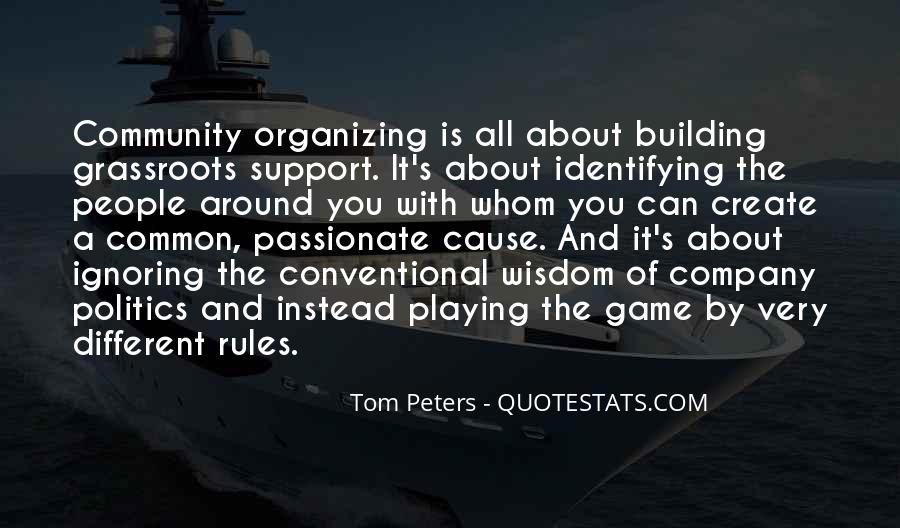 Quotes About Building A Community #120639