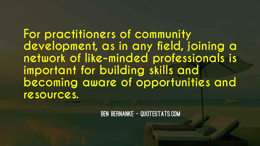 Quotes About Building A Community #143240