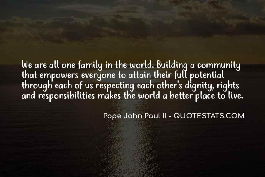 Quotes About Building A Community #1581093