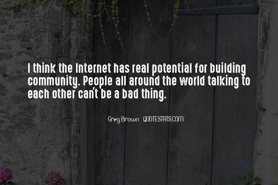 Quotes About Building A Community #246023