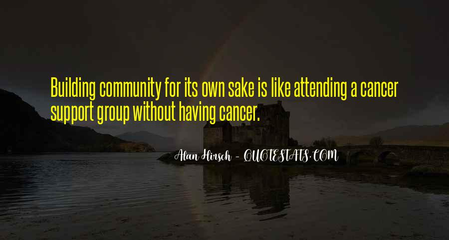 Quotes About Building A Community #33270