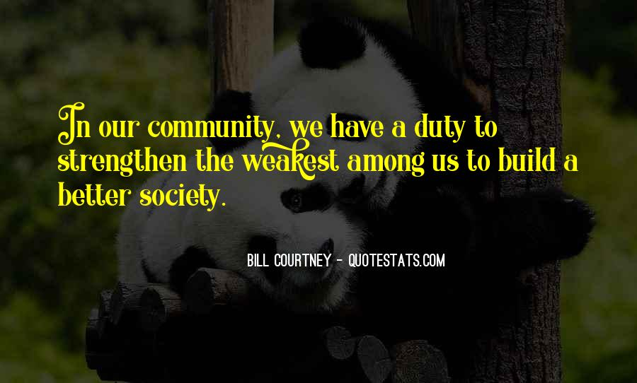 Quotes About Building A Community #655170