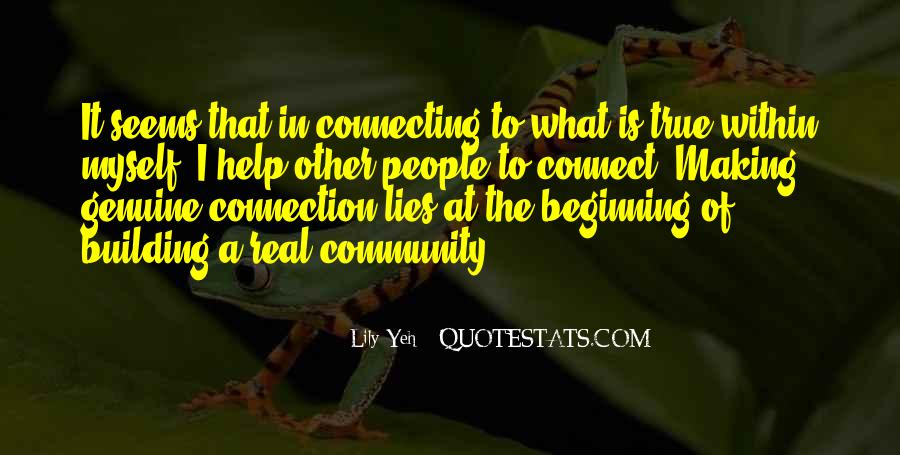 Quotes About Building A Community #993426