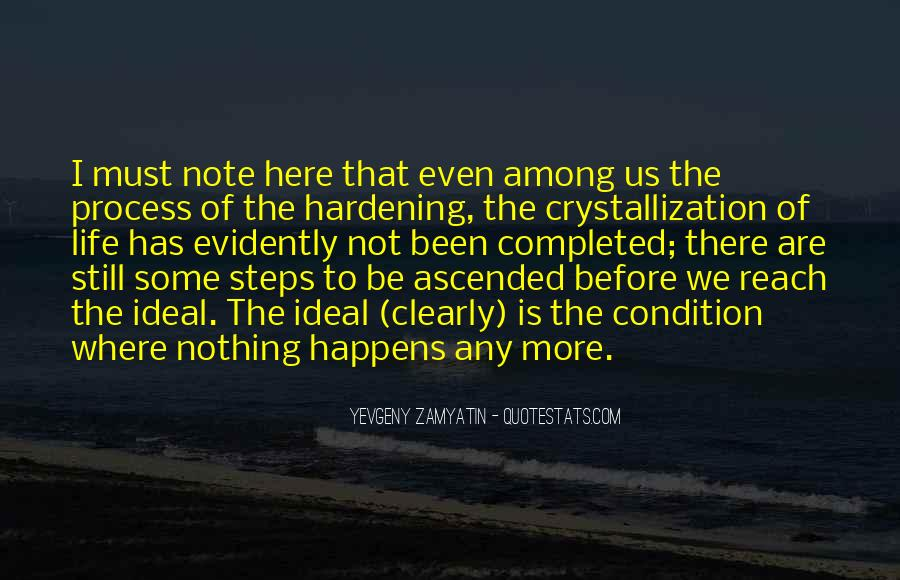 Quotes About Crystallization #1358779