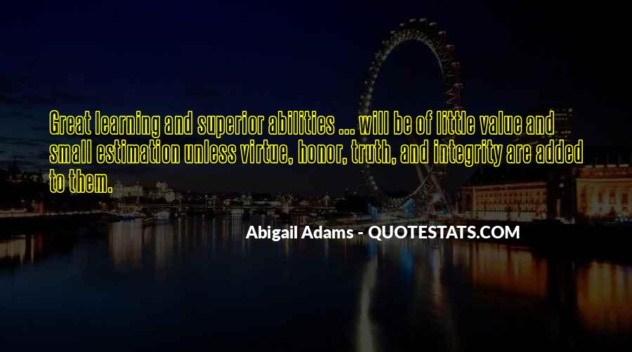 Quotes About Abigail #158211