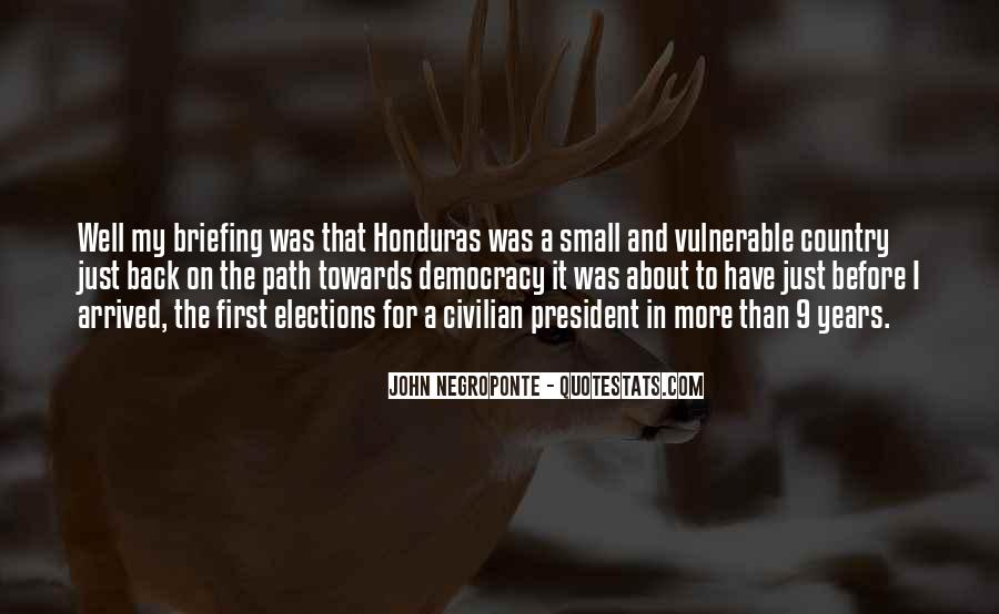 Quotes About Honduras #1324858