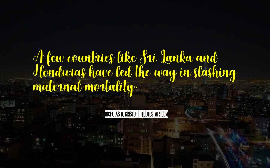 Quotes About Honduras #1372581