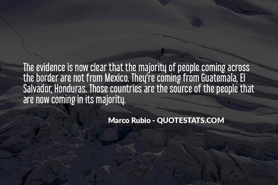 Quotes About Honduras #496378