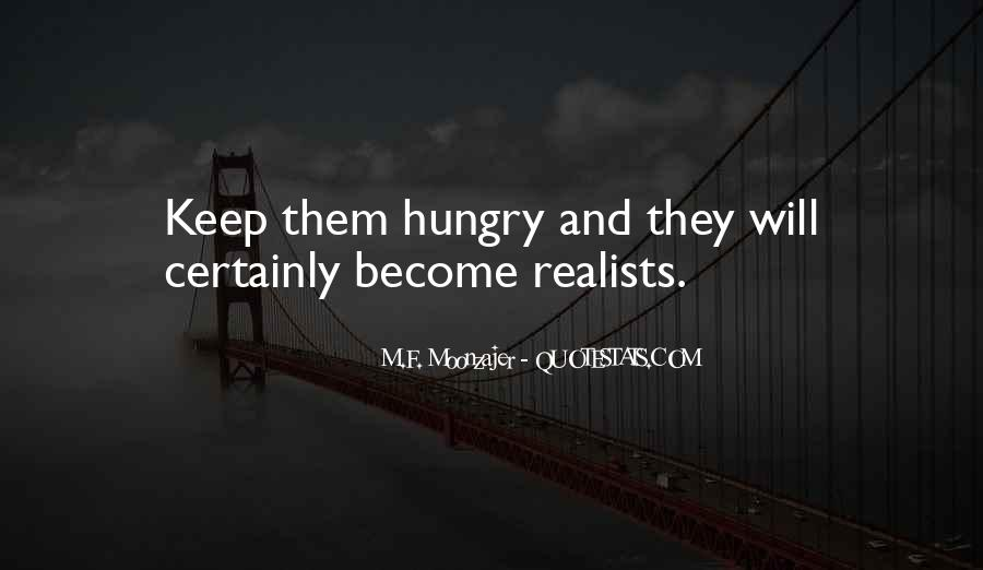 Quotes About Realists #1292155